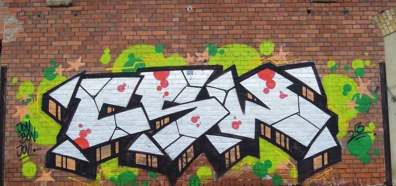 Güterbahnhof Coburg. CSW Piece 1. Kunst und so - Grüß dich mei Guder. Street Art. Graffiti Coburg. JDE TDN CSW GDMG!