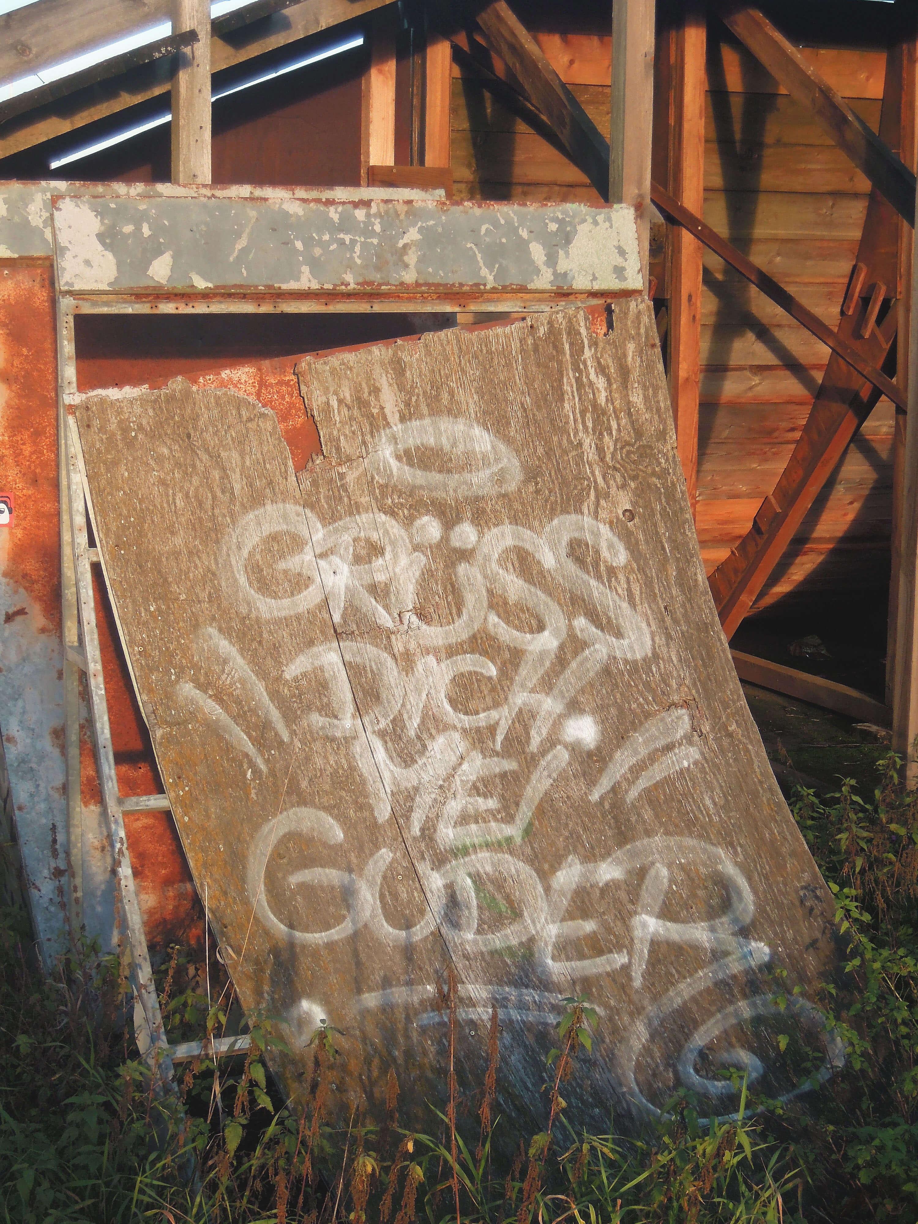 GDMG Miniramp. Kunst und so - Grüß dich mei Guder. Street Art. Graffiti Coburg. JDE TDN CSW GDMG!