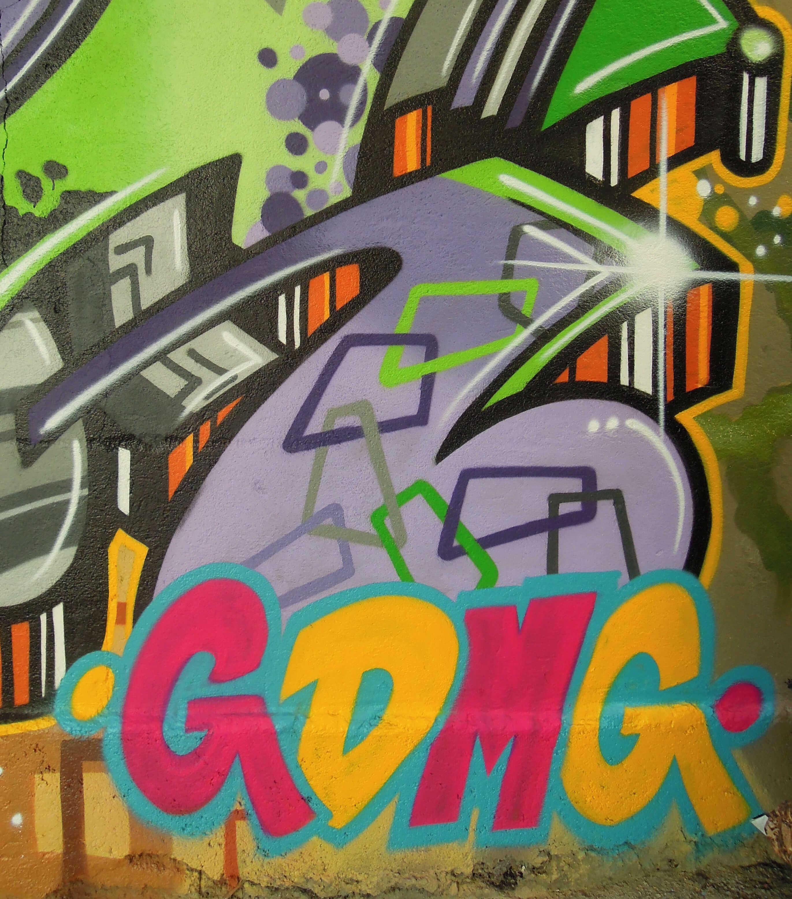 GDMG. Kunst und so - Grüß dich mei Guder. Street Art. Graffiti Coburg. JDE TDN CSW GDMG!
