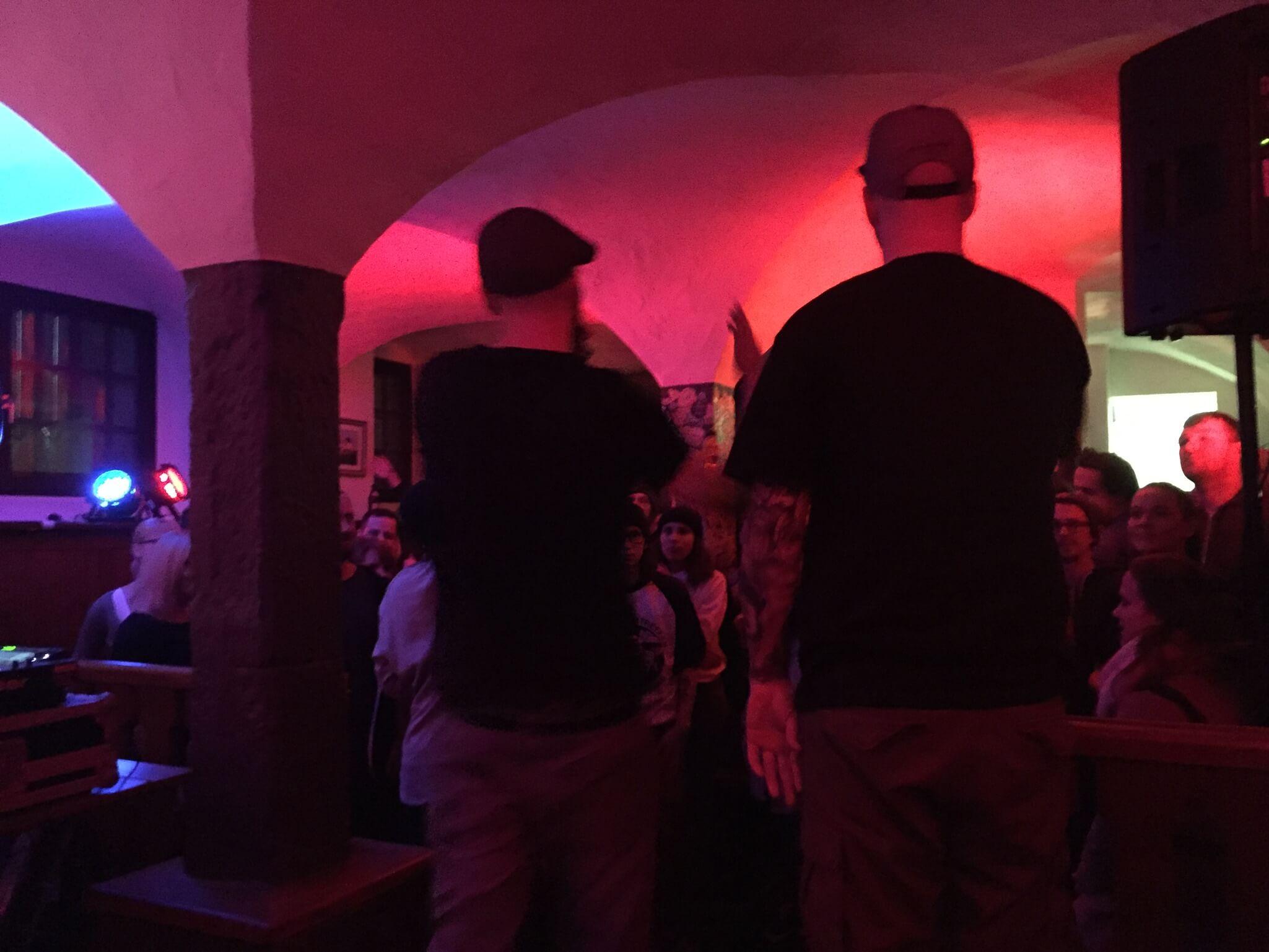 Cane und Heinz. Company Slow. Frankenburger. Live Hip Hop. Bratwurst Rap. Coburg.